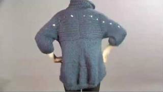 #17 Bulky Coat, Vogue Knitting Winter 2008/09