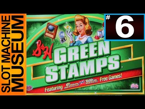 GREEN STAMPS DELUXE (Bally) - [Slot Museum] ~ Slot Machine Review