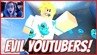 ROBLOX ESCAPE DIE EVIL YOUTUBERS | LOOK MOM Ich bin IN EINEM OBBY!