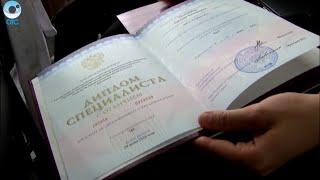 Выпускникам Лечебного факультета НГМУ вручили дипломы о высшем образовании(, 2016-06-30T09:42:38.000Z)