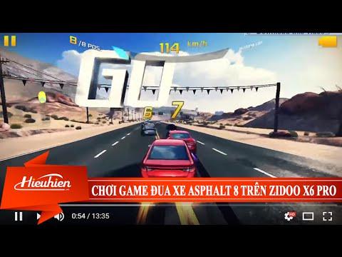[Hieuhien.vn] Reviews chơi game đua xe Asphalt 8 trên Zidoo X6 PRO - Android TV Box 8 nhân