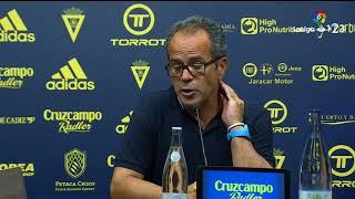 Rueda de prensa de Álvaro Cervera tras el Cádiz CF vs AD Alcorcón (0-0)
