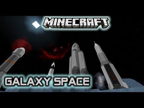 Космический мод аддон Galaxy Space 1.7.10