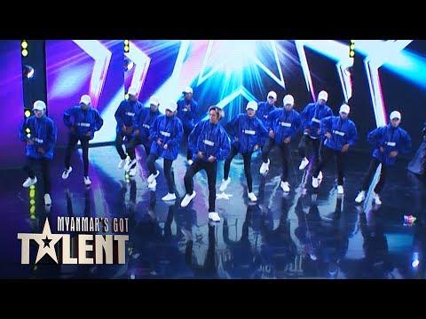 Team Illusion: Auditions | Myanmar's Got Talent 2019