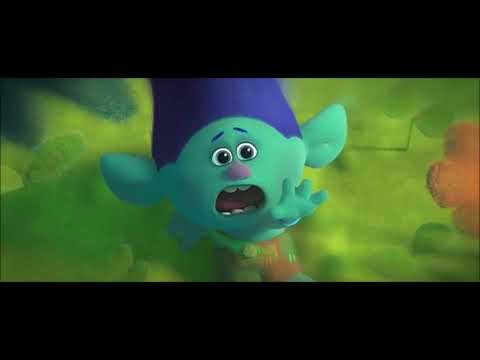 Trolls movie - Branch sad moments