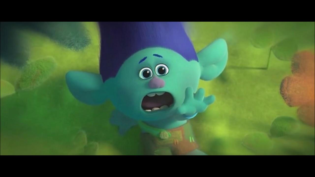 Download Trolls movie - Branch sad moments