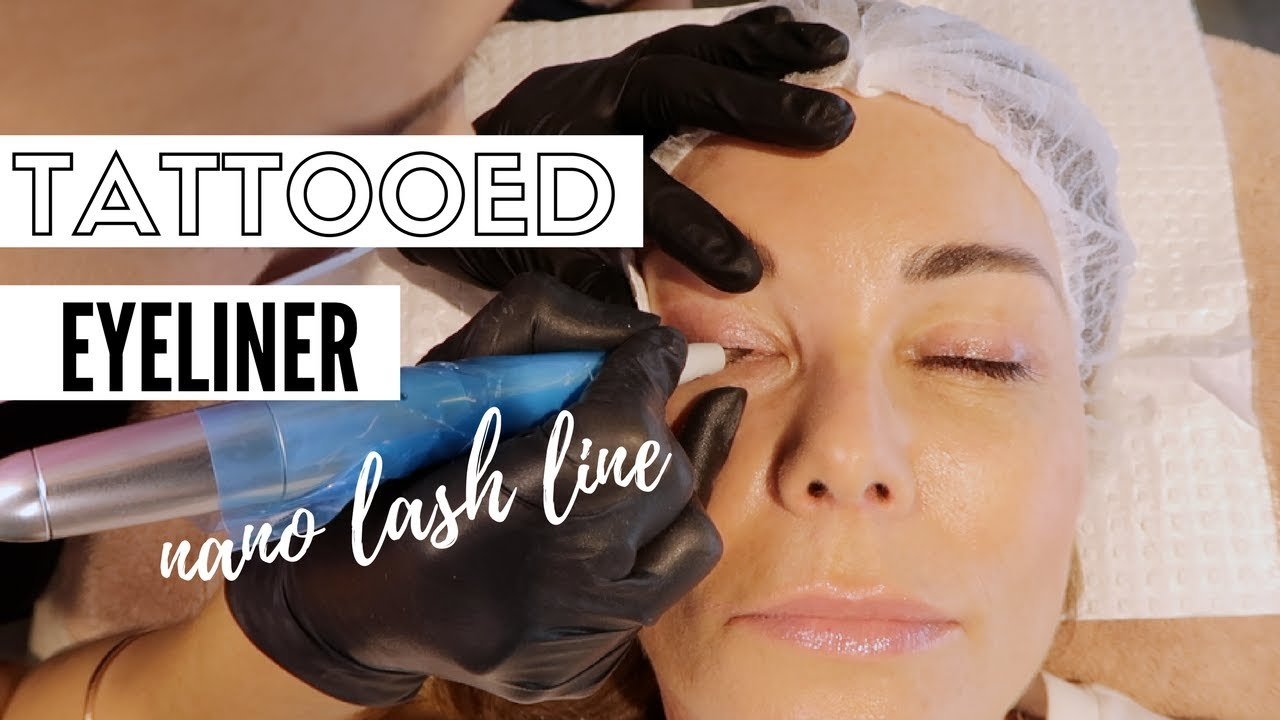 Permanent Makeup Getting My Eyeliner Tattooed Youtube