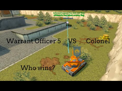 Tanki Online Warrant Officer 5 VS Colonel