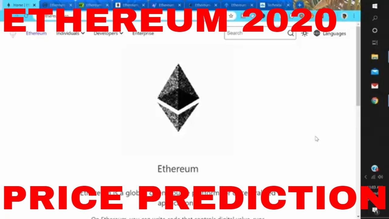 Ethereum Price Prediction 2020 Ethereum Price Prediction Today ETH Price Prediction 1