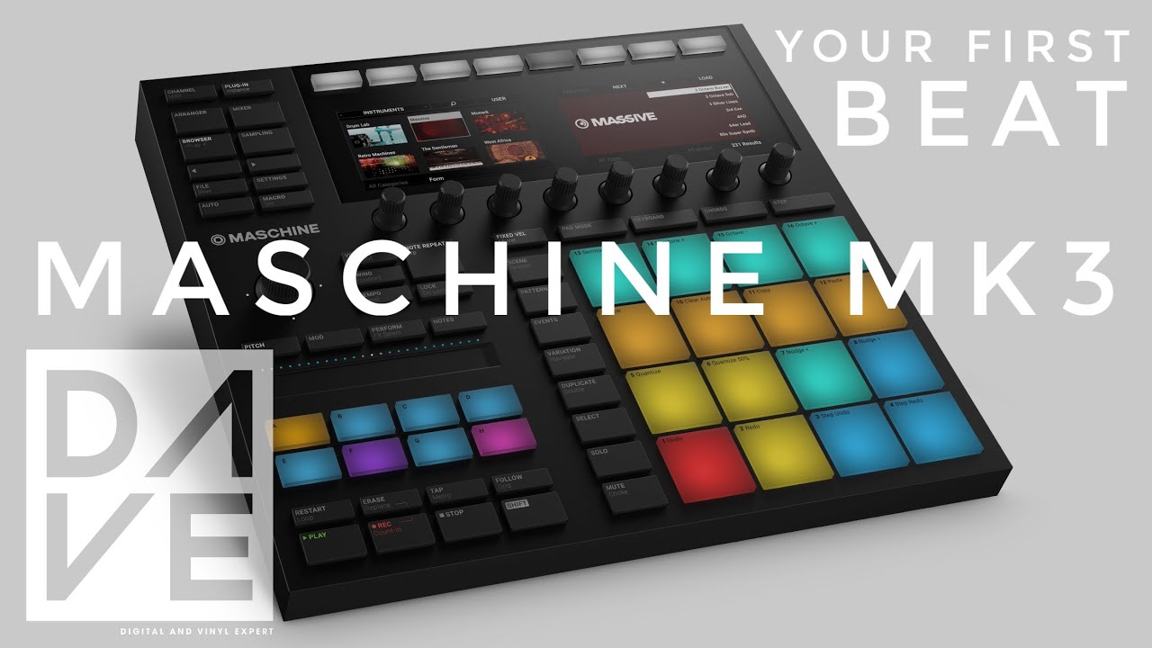 Setting Up The Hardware & Making Your First Beat | Maschine MK3 ...