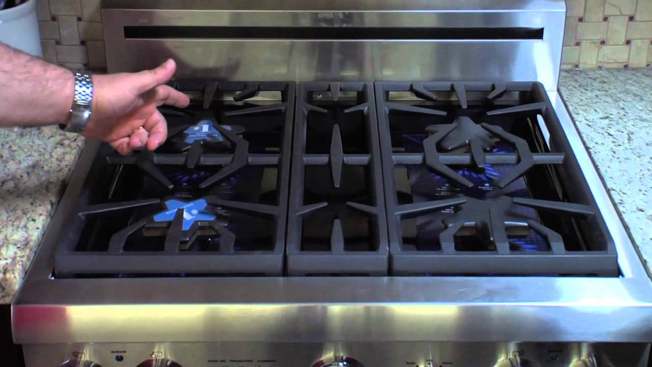 Thermador 30 Professional Series Pro Harmony Gas Range at