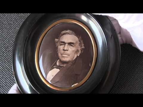 Collodion photoceramic. Procédé Deroche & Heyland. Processo fotografico allo smalto 1870 ca.