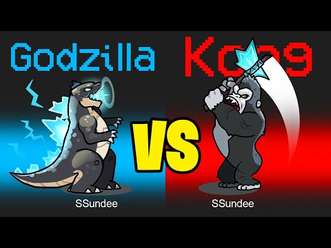 GODZILLA vs KING KONG in Among Us