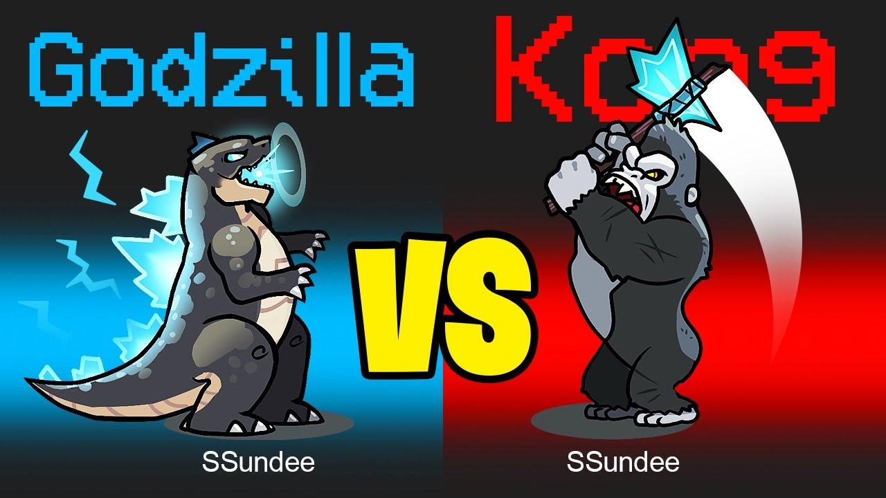 Download GODZILLA vs KING KONG in Among Us