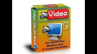 Magic Video Site Maker 2.0 Website & Members Area Membership Site Software