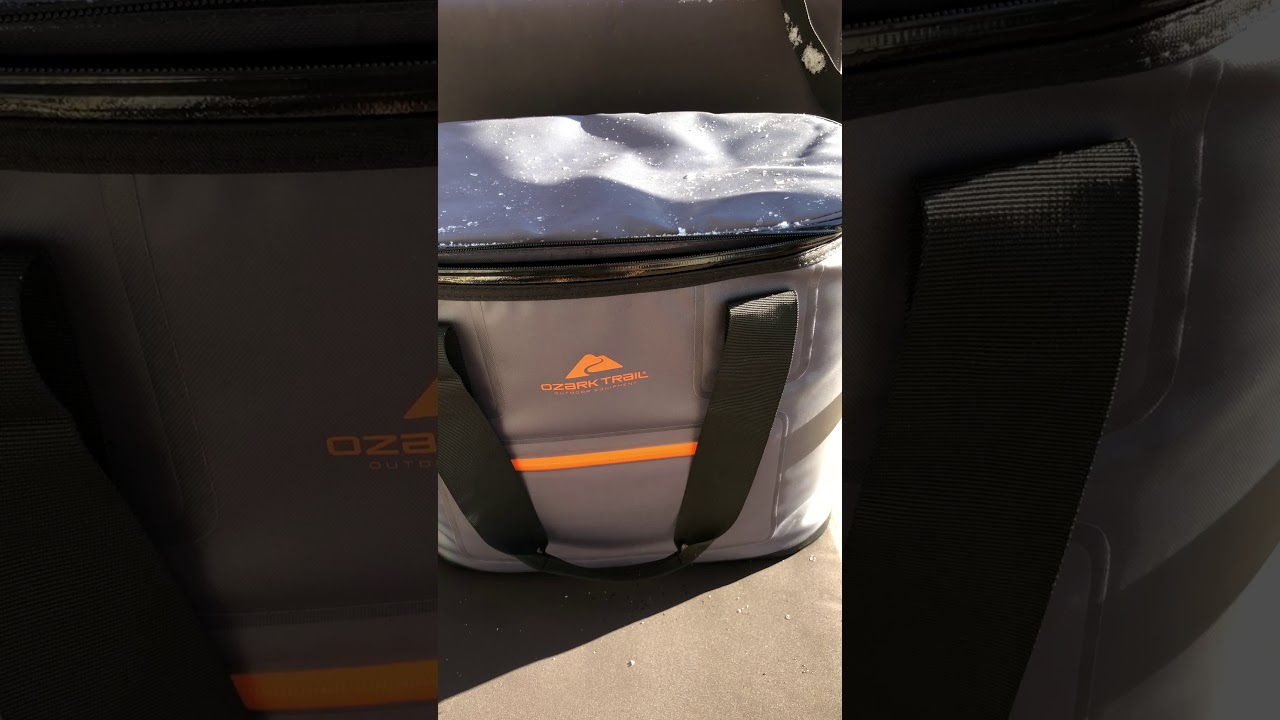 Ozark Trails Soft Sided Cooler Review Youtube