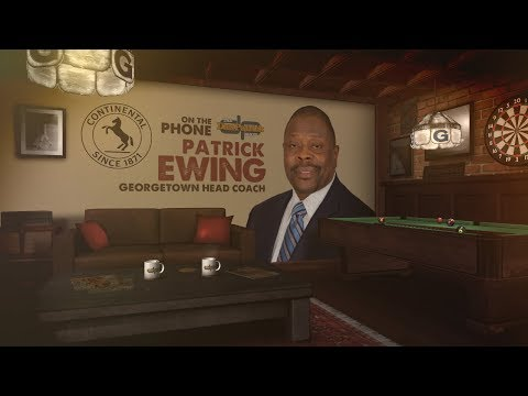 Georgetown Hoyas Head Coach Patrick Ewing on The Dan Patrick Show | Full Interview | 11/13/17