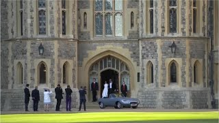 This car stole the show at the royal wedding