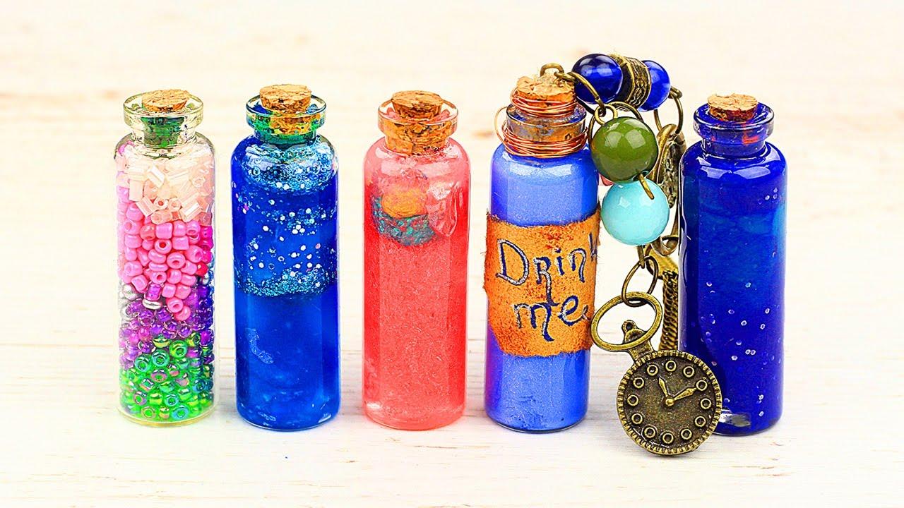 Волшебные кулоны-бутылочки своими руками - 8 идей