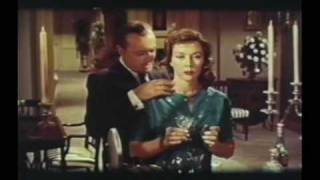 The Cobweb Trailer, Richard Widmark, Lauren Bacall, Fay Wray