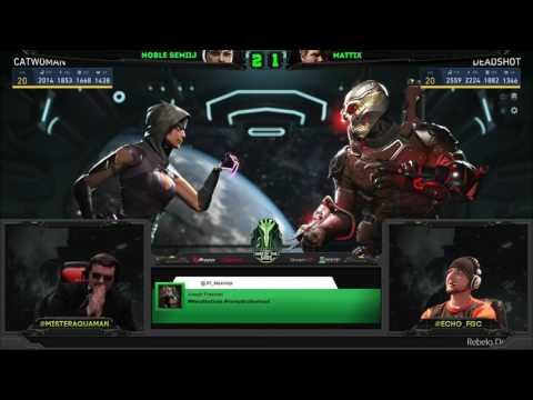 Injustice 2 - WOTG W3 - Semiij (Catwoman) Vs Mattix (Aquaman) Epic!