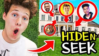 CRAZY FINAL HIDE AND SEEK IN THE 2HYPE MANSION