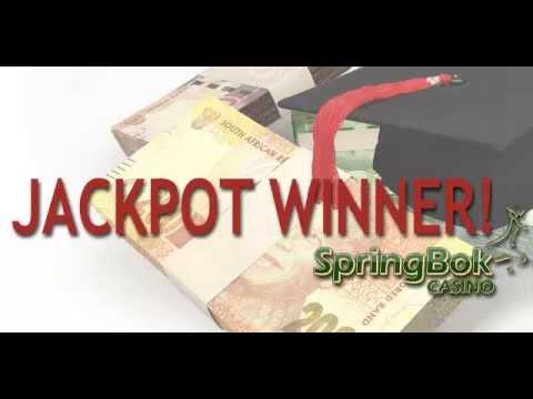 Springbok Casino Jackpot Winner Pays Sons College Tuition