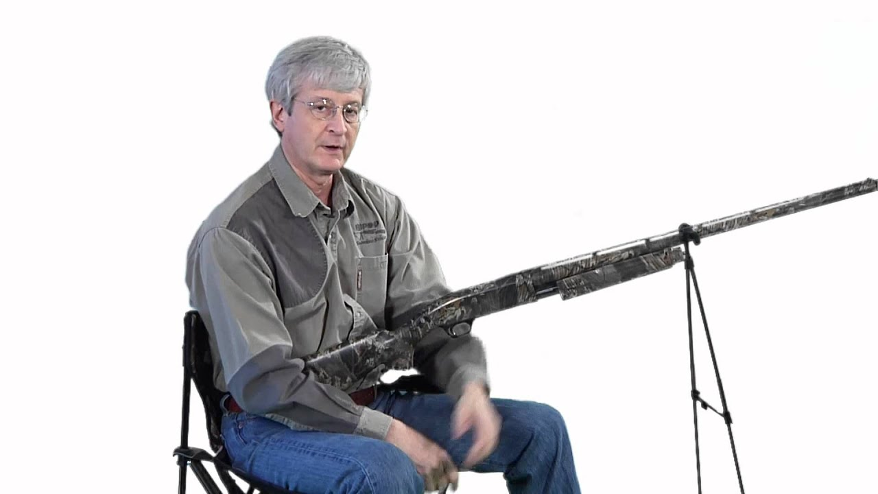 how to hold a rifle with a bipod