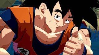 Dragon Ball FighterZ - Base Goku vs Freeza Dramatic Finish in English and Japanese