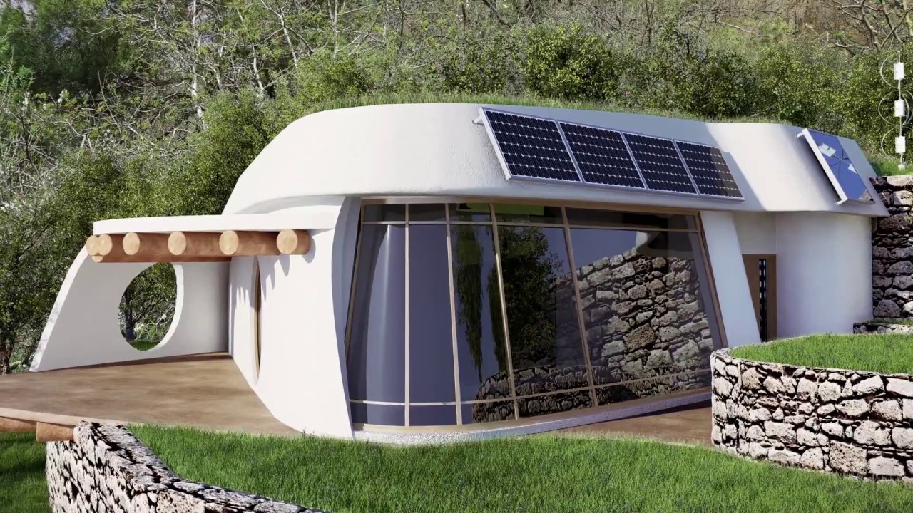 Constructeur Maison Container Nord lifehaus : concept house inspiré du earthship en mode passif