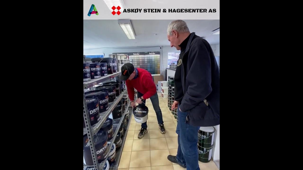 Nyåpning for Askøy Stein & Hagesenter