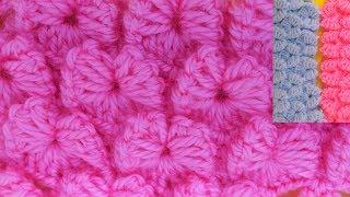 Şık Ve Kolay Bebek Battaniyesi Modeli │Tığ İşi Örgü  - Anlatımlı