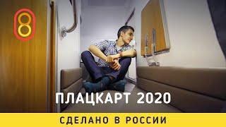 Это плацкарт РЖД 2020 — со шкафом!