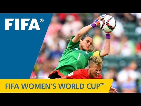 HIGHLIGHTS: Germany v. England - FIFA Women's World Cup 2015
