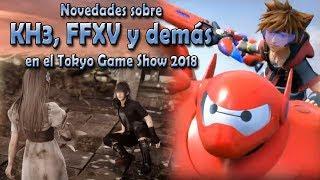 Novedades de KH3, FFXV y otros títulos en el Tokyo Game Show 2018 – PlayStation Classic
