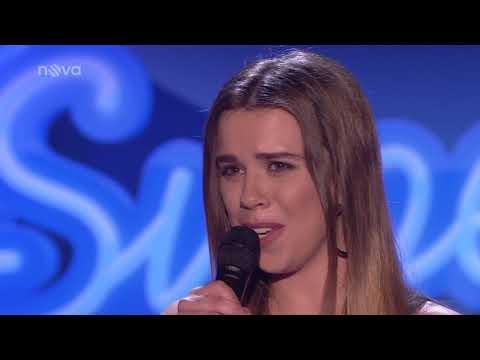 Semifinále SuperStar 2018   Viktórie Černíková   Gabrielle Aplin – The Power Of Love