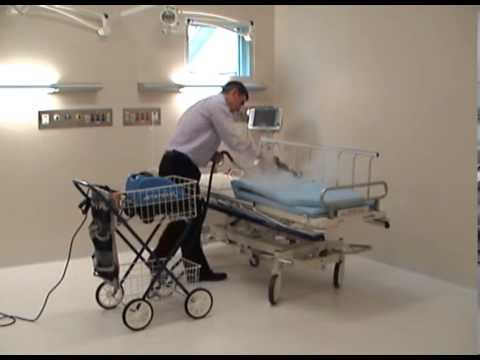 Patient Bed Disinfection In Infection Control Cleaning