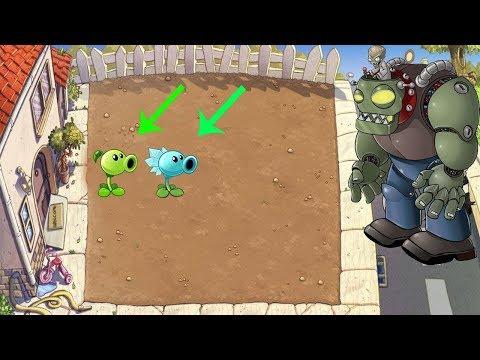 Plants vs Zombies Hack - All Pea PvZ vs Dr. Zomboss