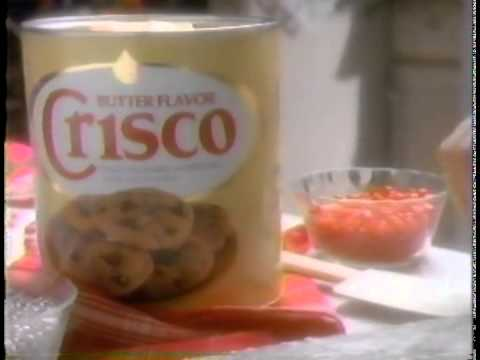Crisco Christmas cookie commercial - 1989