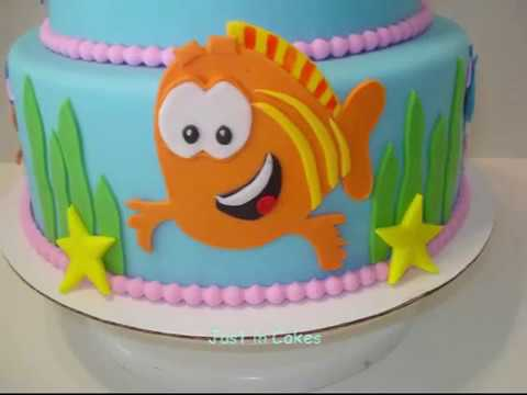 How To Make Bubble Guppie Cake