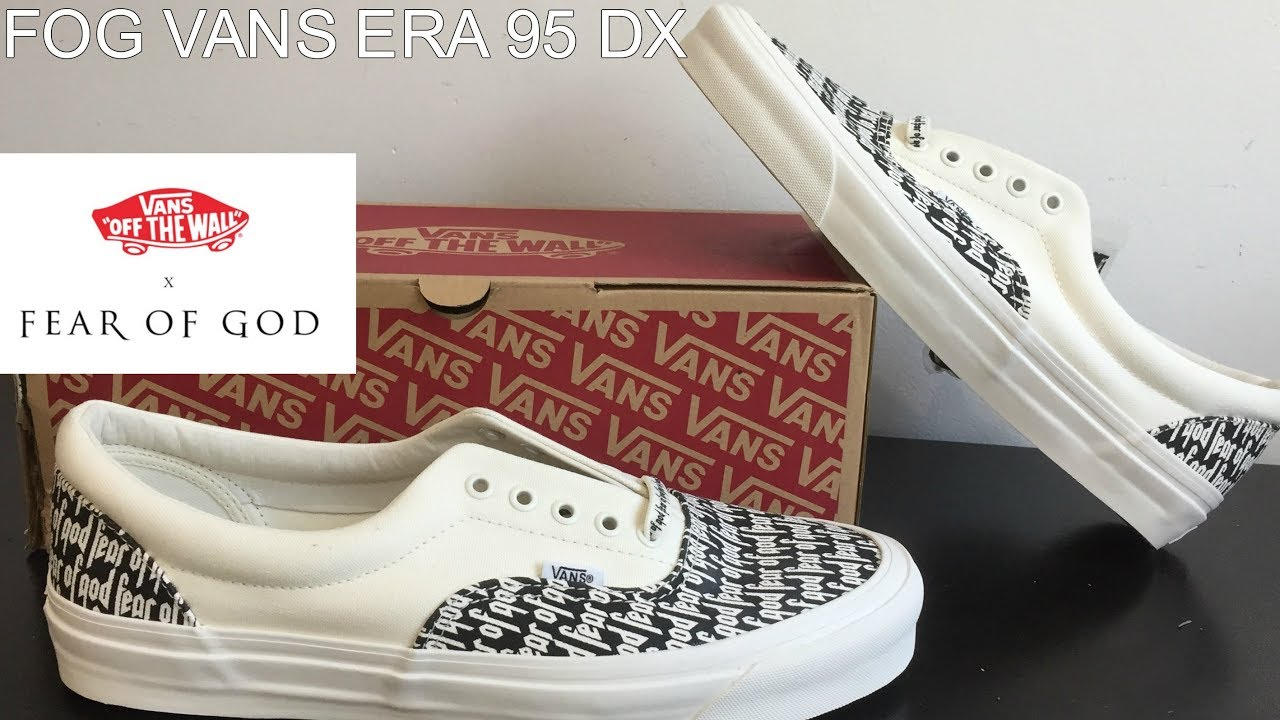 4ed810ac2a fog x vans era 95 dx FEAR OF GOD ...