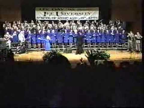 Lee University Campus Choir - Who Can Satisfy - YouTube