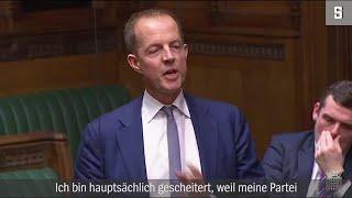 Brexit-Frust: Emotionaler Abschied eines Tory-Abgeordneten