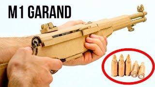 Amazing M1 GARAND   How To Make DIY Cardboard Gun