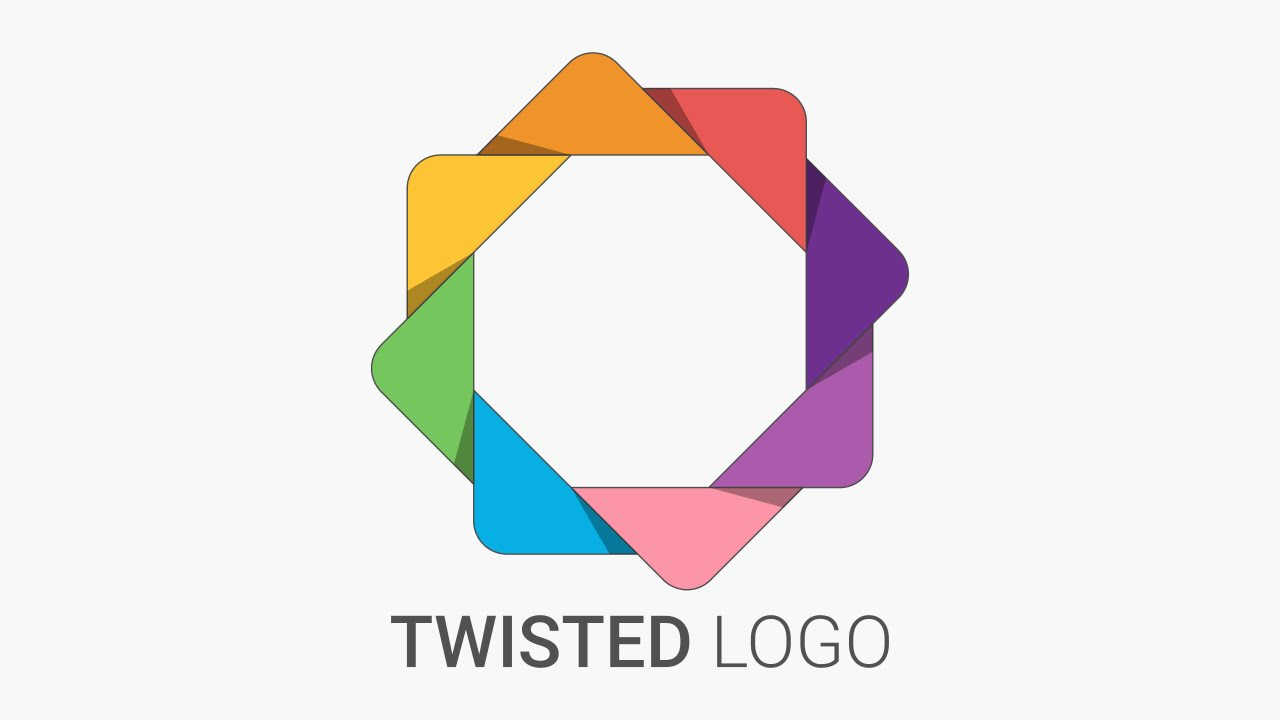 Inkscape Character Design Tutorial : Twisted logo design tutorial in inkscape youtube