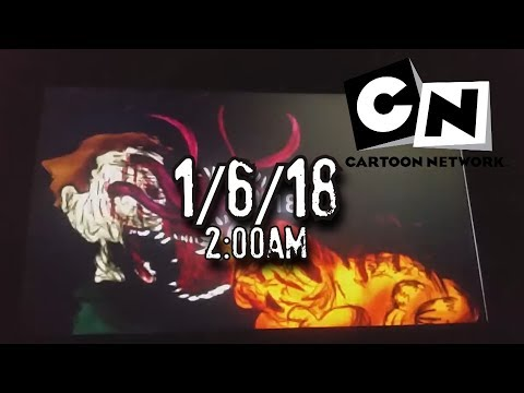 el mensaje de CARTOON NETWORK 2:00 AM | 01/06/18