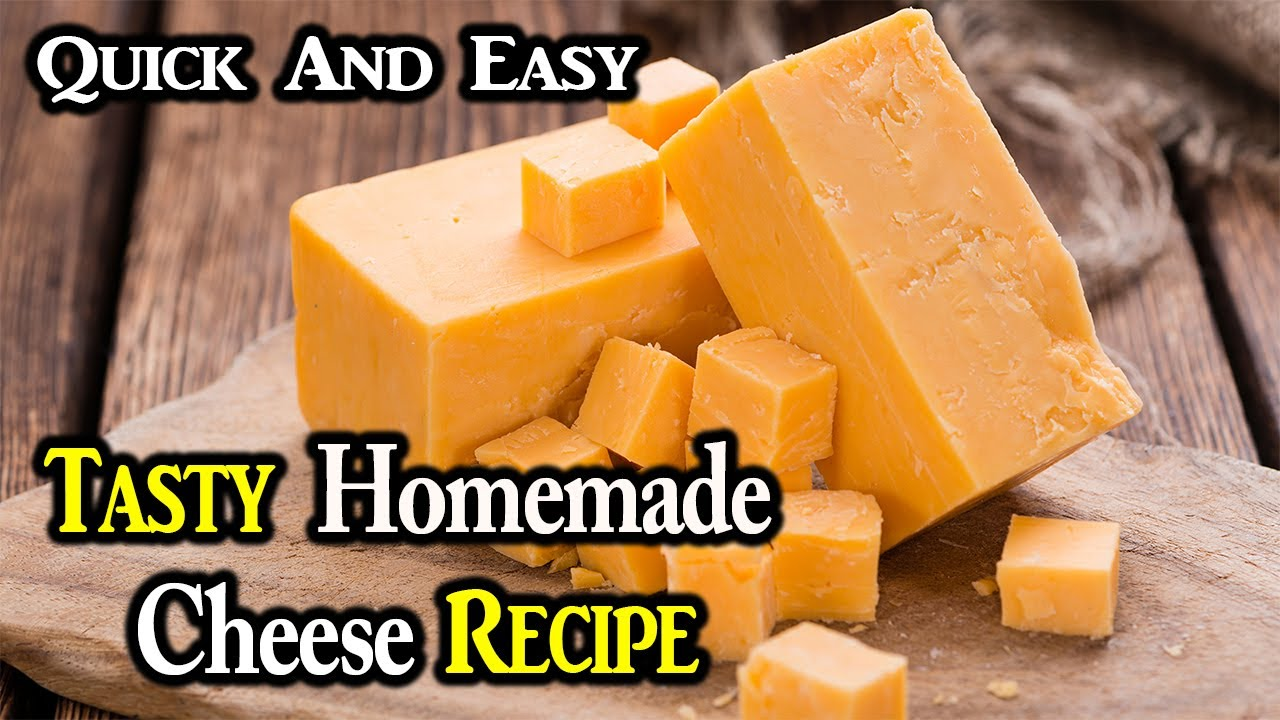 Tasty Homemade Cheese Recipe | Cheese Kaise Banaye | How To Make Cheese At Home | Quick And Easy.