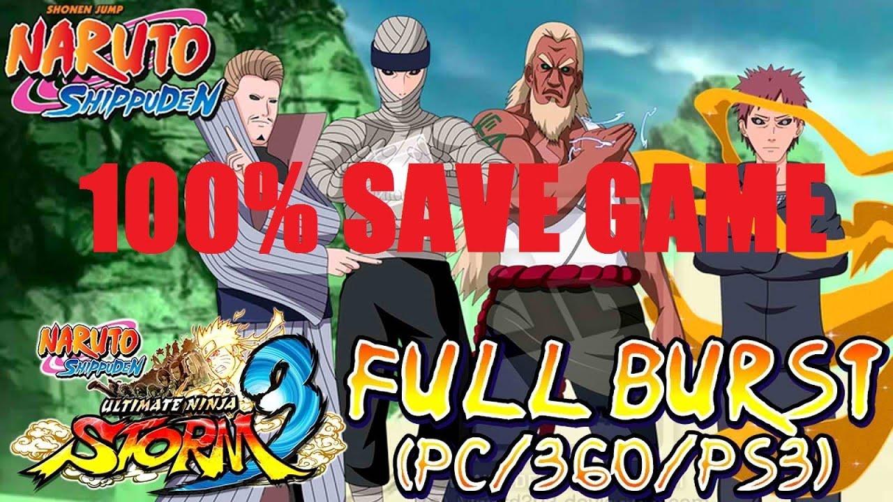 Save Game Location ? :: NARUTO SHIPPUDEN: Ultimate Ninja ...