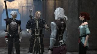 Dragon Age 2 — Фенрис пререкается с Андерсом