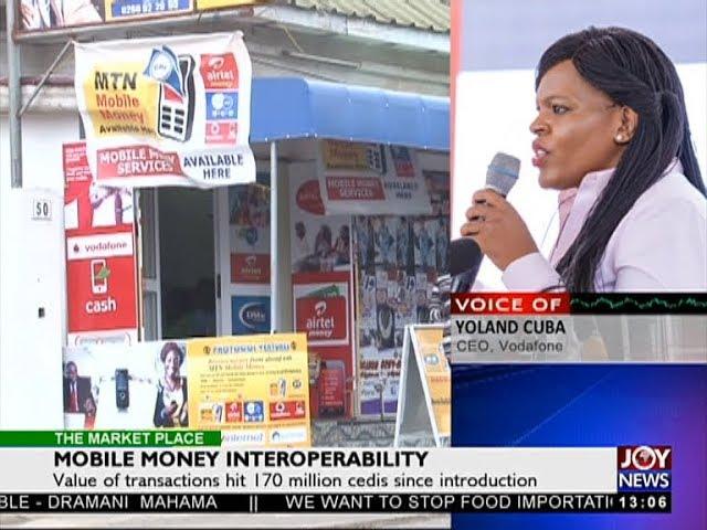 Mobile Money Interoperability - The Market Place on JoyNews (25-7-18)